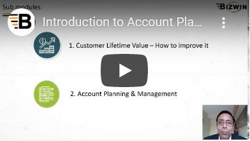 Account Planning & Management
